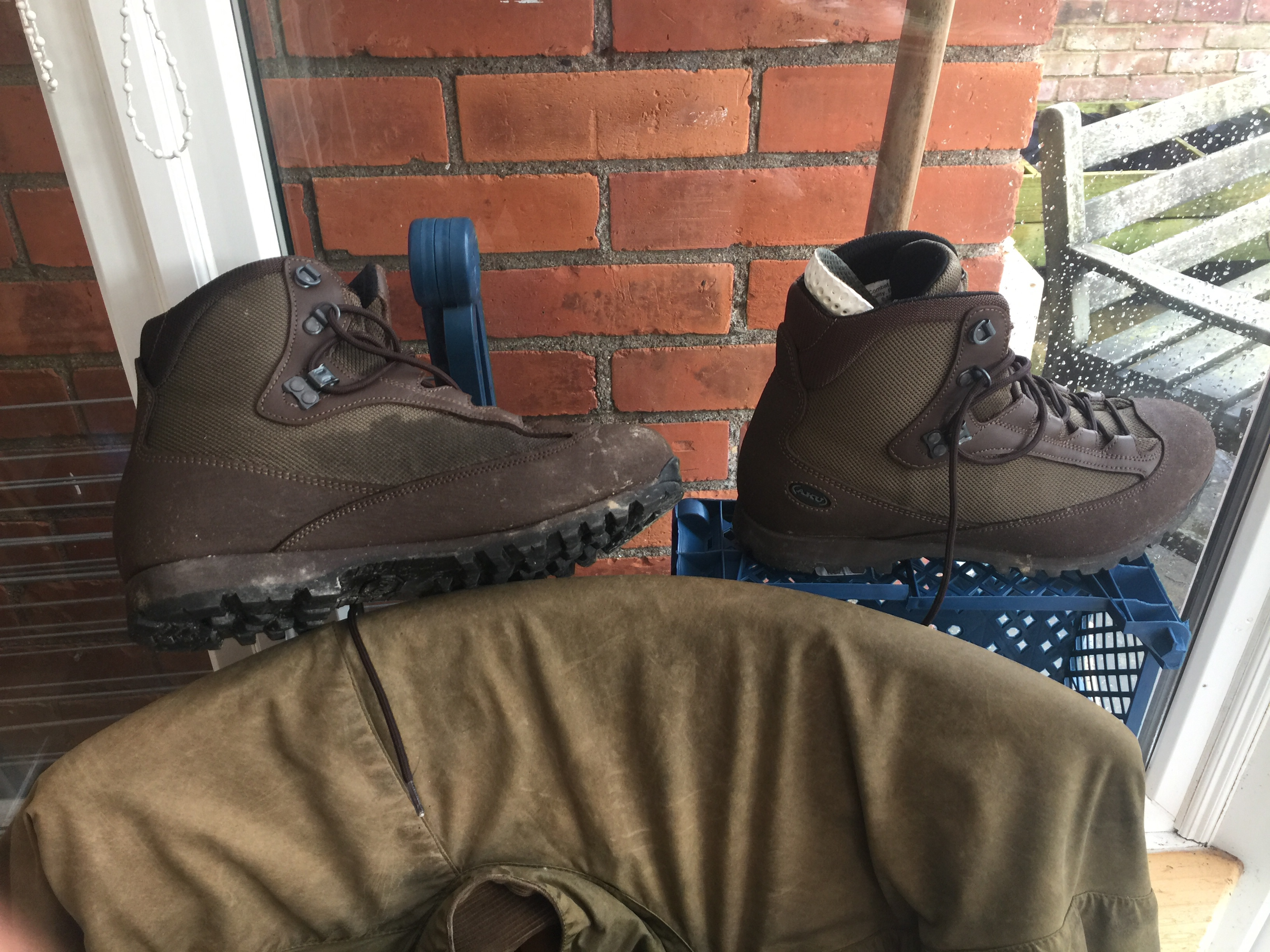 4caf1e09315 New boots and putties … | Ollismark's Blog